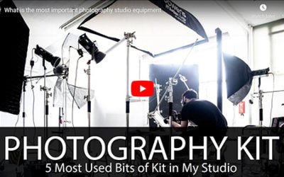 My Most Used Studio Photography Kit